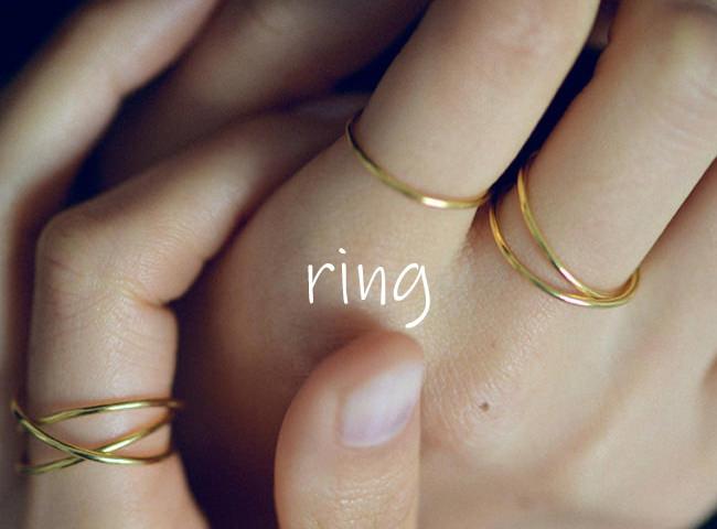 リング・指輪の種類と名前