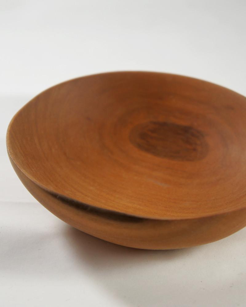 ウッド小皿 ディテール