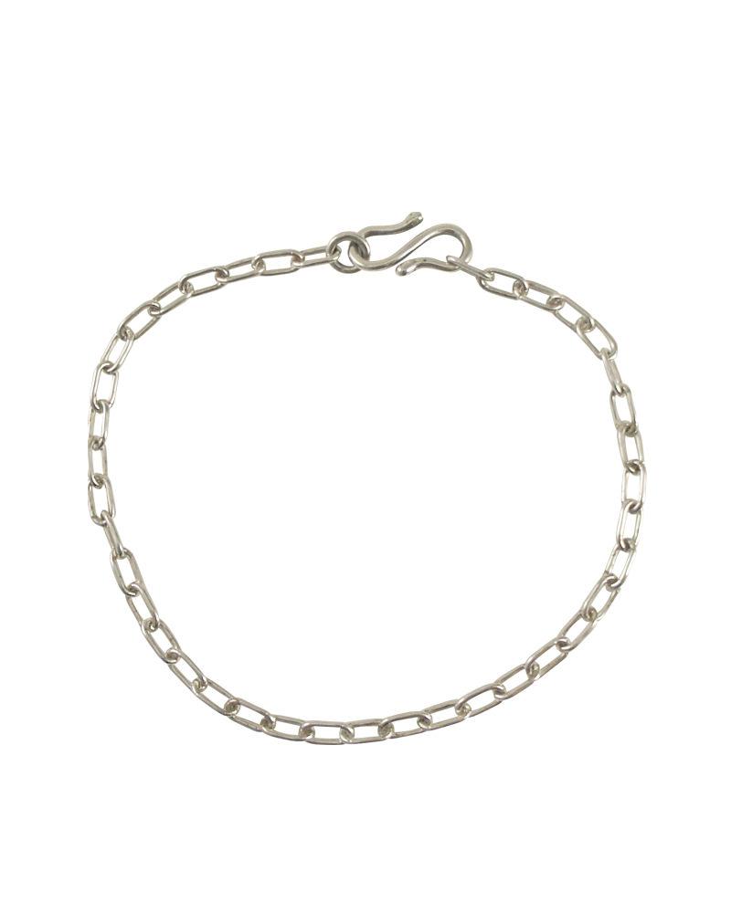 あずきチェーンブレスレット silver925
