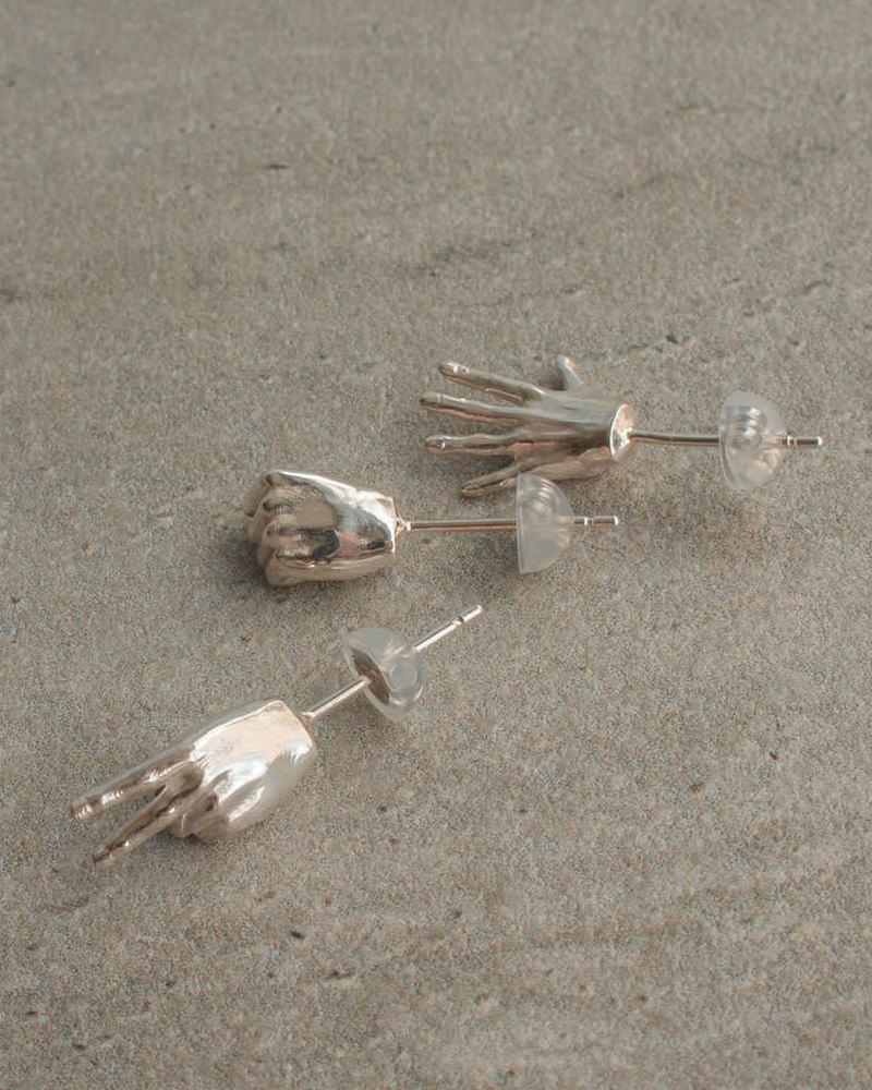 ジャンケンピアス silver925